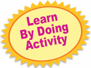 Learn By Doing Activity
