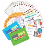 Teamwork and Teamplay Character Cards by GivaGeta Smiles