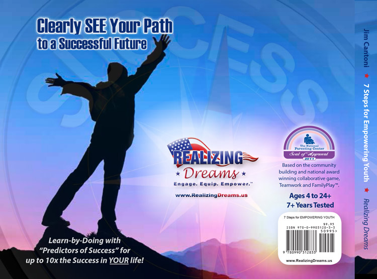 "A self-discovery ""life book"" giving youth voice and choice in their lives 7 Steps for EMPOWERING YOUTH: Self-Awareness Developing GRIT and a Growth Mindest"