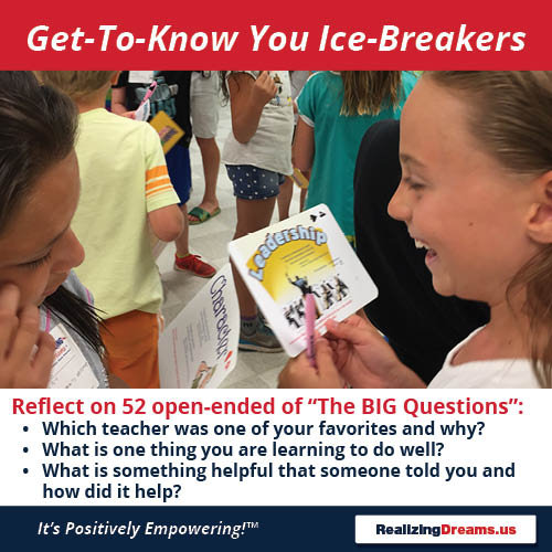 Teamwork and FamilyPlay Get to Know You Ice Breakers