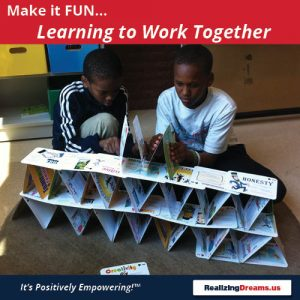 Teamwork and FamilyPlay Learning to Work Together