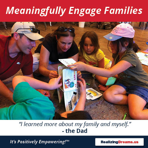 Teamwork and FamilyPlay Meaningfully engage families