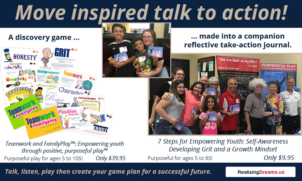 Move inspired talk to action! Create your Game Plan for a Successful Future
